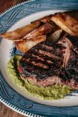 gegrilltes Ribeye Steak Southern Style