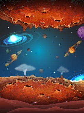 Planets in the galaxy