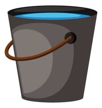 Bucket full of water