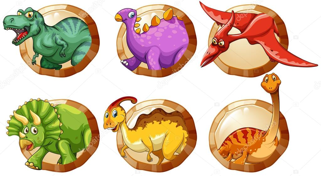 Áˆ Dinosaurs Stock Cliparts Royalty Free Dinosaur Illustrations Images Download On Depositphotos