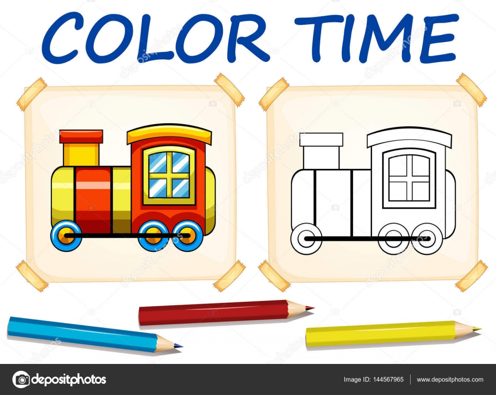 photograph relating to Train Template Printable referred to as Printable prepare layouts Coloring template with teach