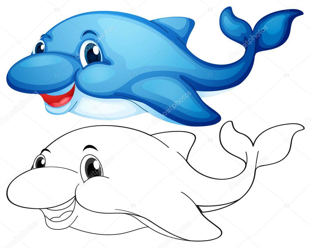 Fantastisch Süße Delphin Malvorlagen Bilder - Malvorlagen-Ideen ...