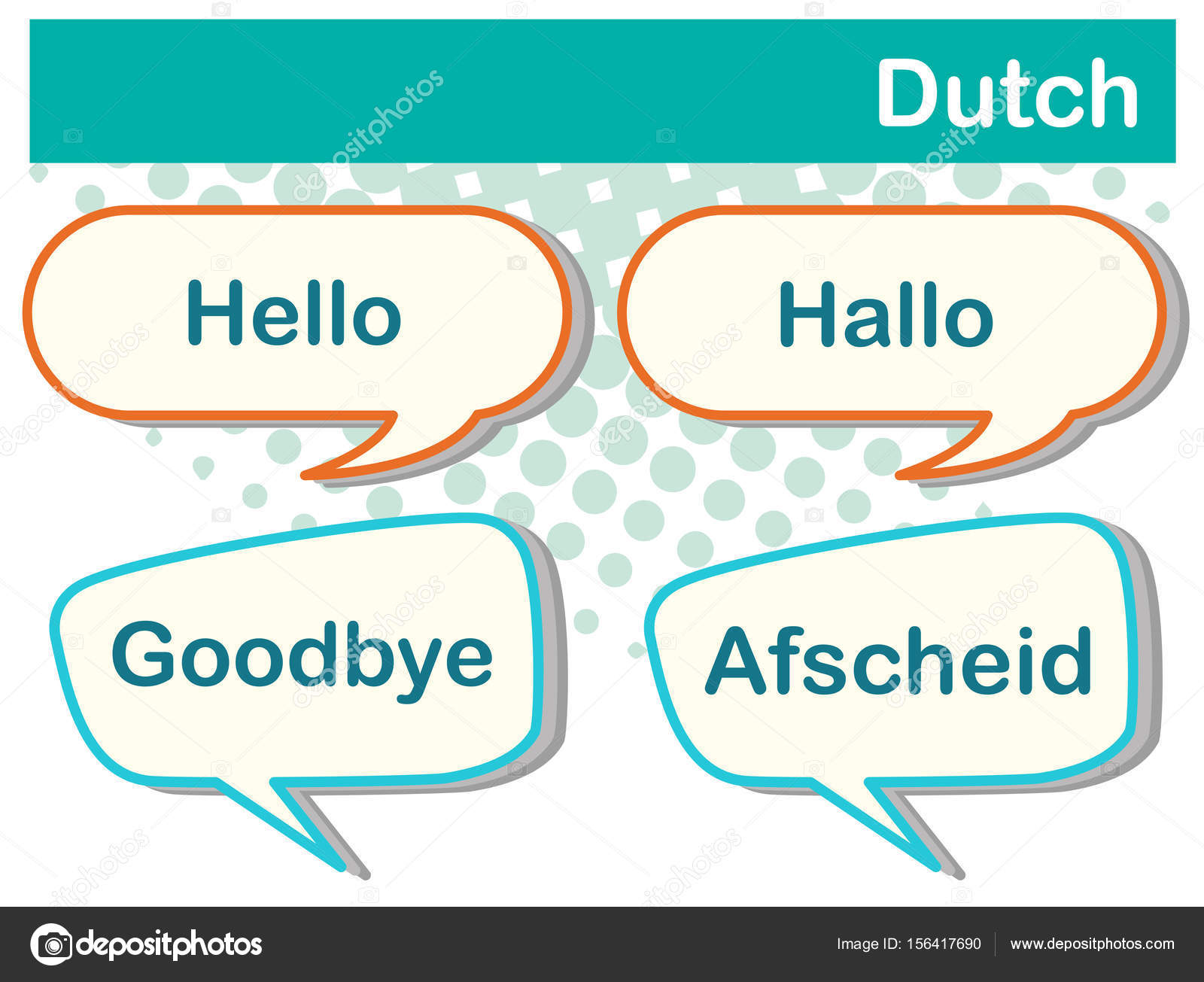 Greeting words in dutch language stock vector interactimages greeting words in dutch language stock vector m4hsunfo