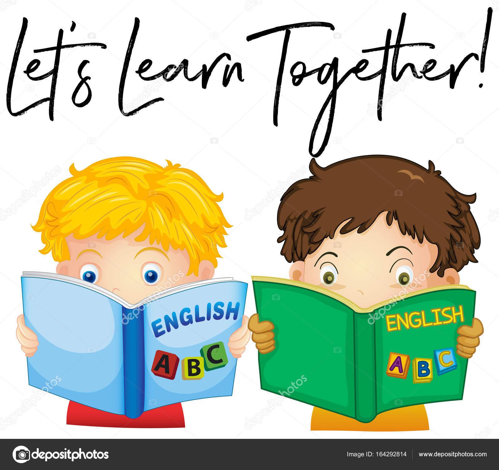 Imágenes Niños Leyendo En Ingles Niños Leyendo El Libro