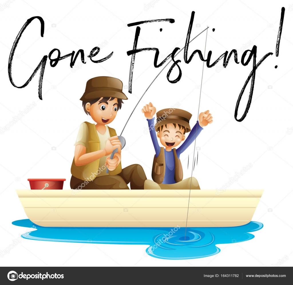 Imágenes Padre E Hijo Con Frases Padre E Hijo A Pescar Con Frase