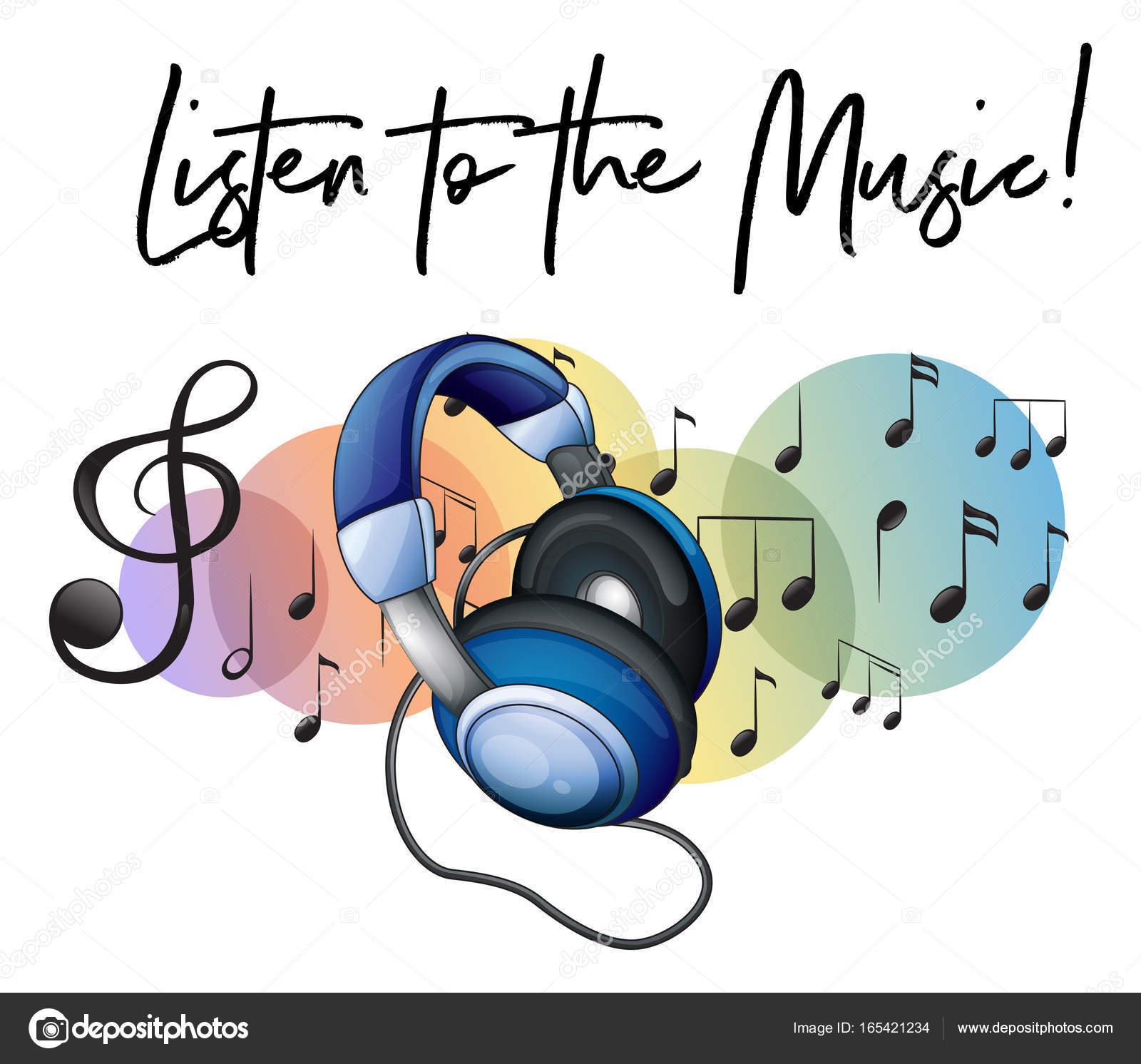 Imágenes Musica Con Frases Escuchar La Frase De Música Y
