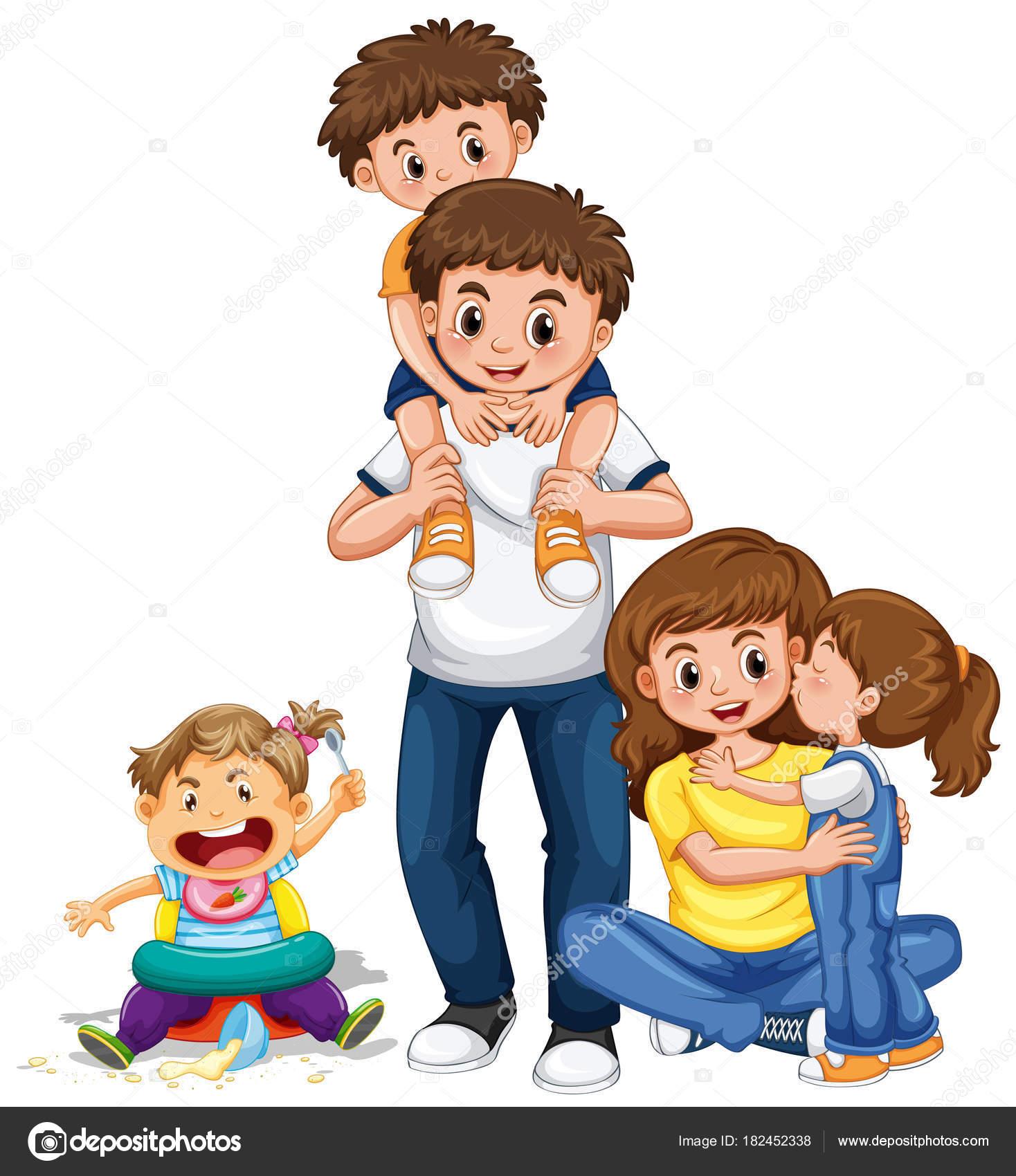 Znalezione obrazy dla zapytania grafika troje dzieci
