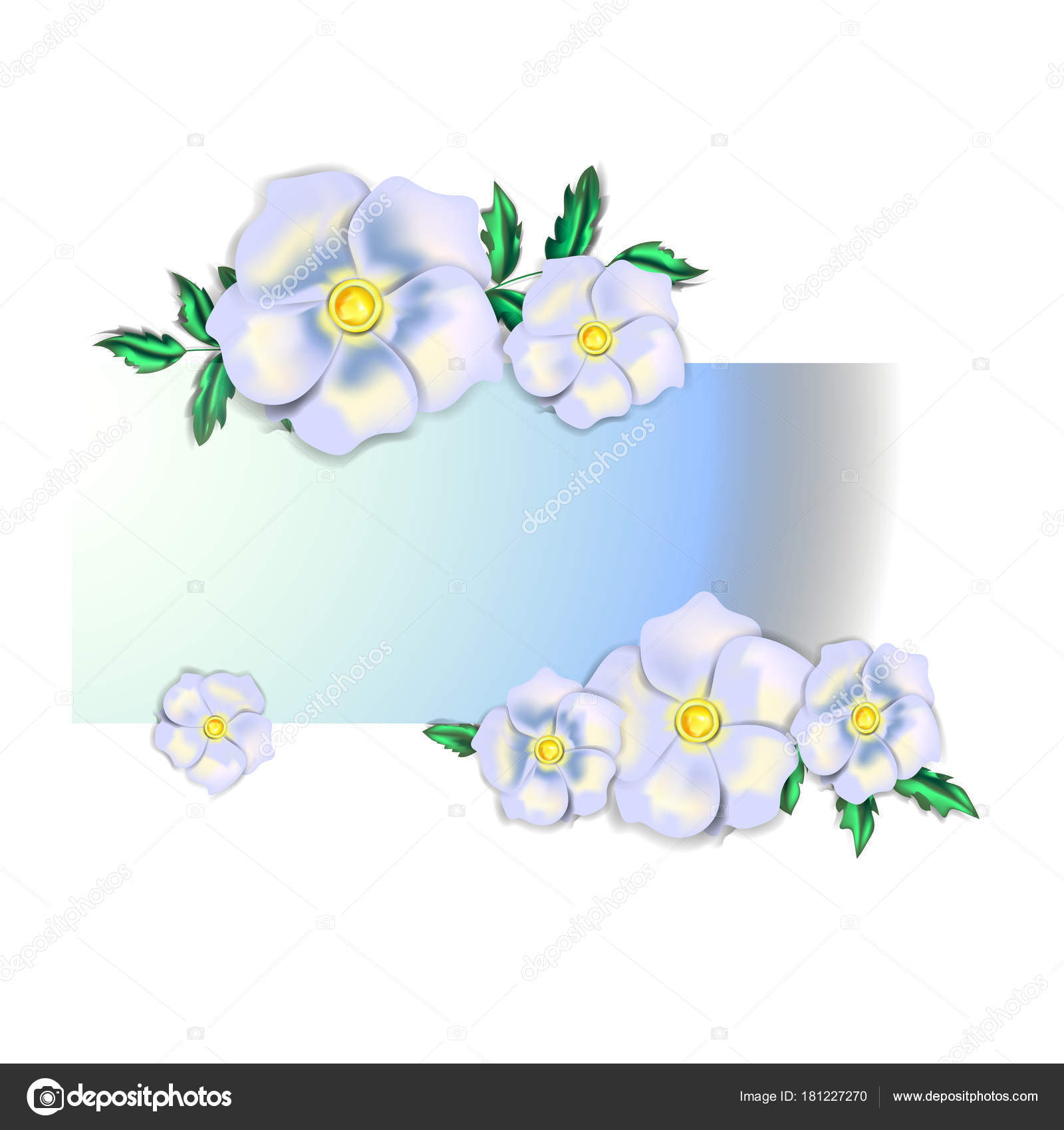 Frame with silk flowers in light blue colors stock vector frame with silk flowers in light blue colors stock vector izmirmasajfo