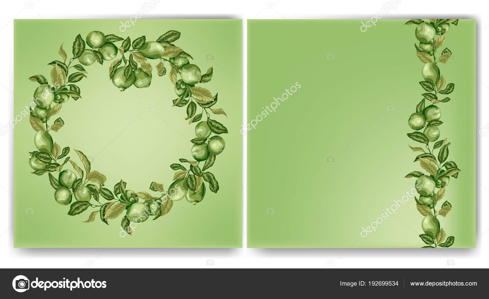 Plantilla cuadrado con marco de círculo y línea vertical con las ...