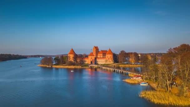 Vzdušná hypertrhlina hradu Trakai