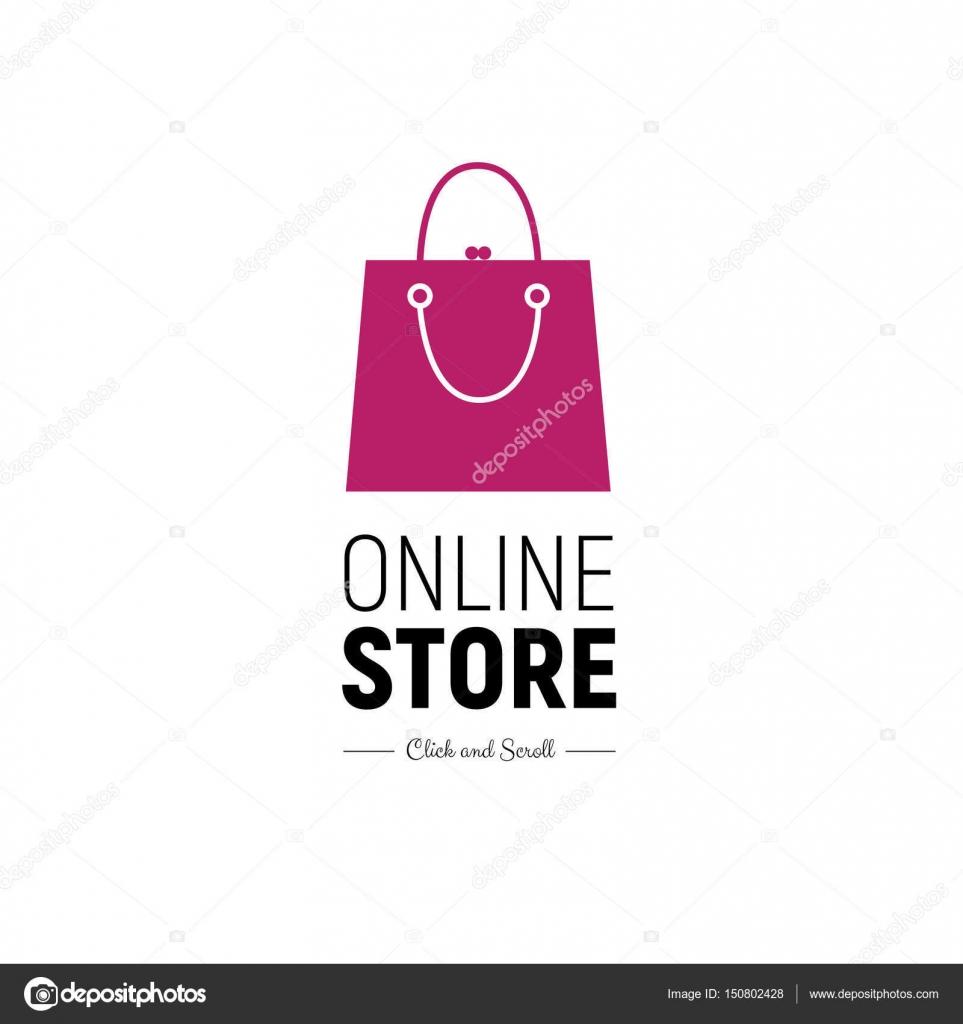 Moderne Web-Banner Online-Shop mit modischen Handtasche. Konzept ...