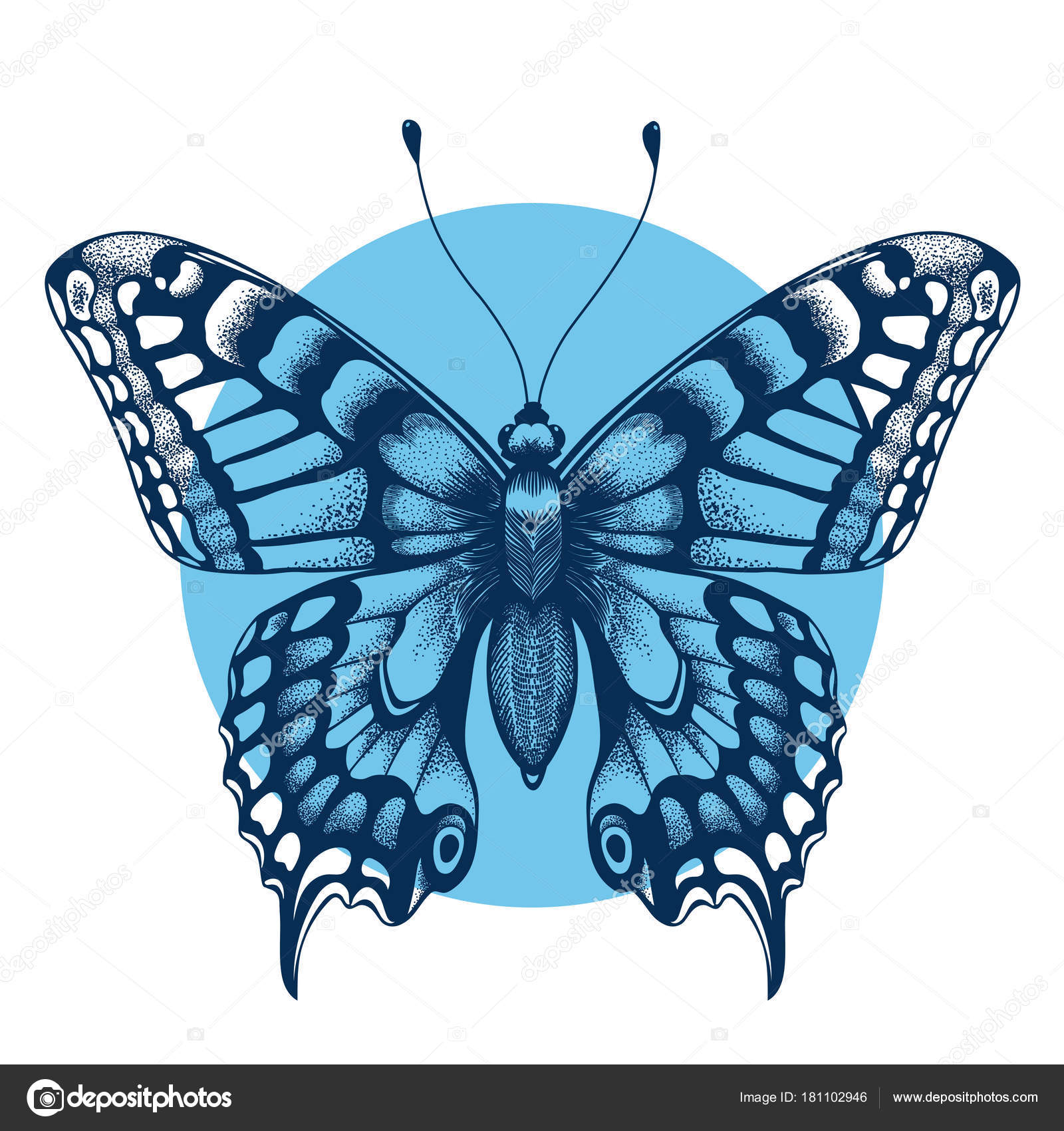 Symbol for immortality gallery symbol and sign ideas tattoo butterfly in blue circle for your forearm symbol of tattoo butterfly in blue circle for buycottarizona