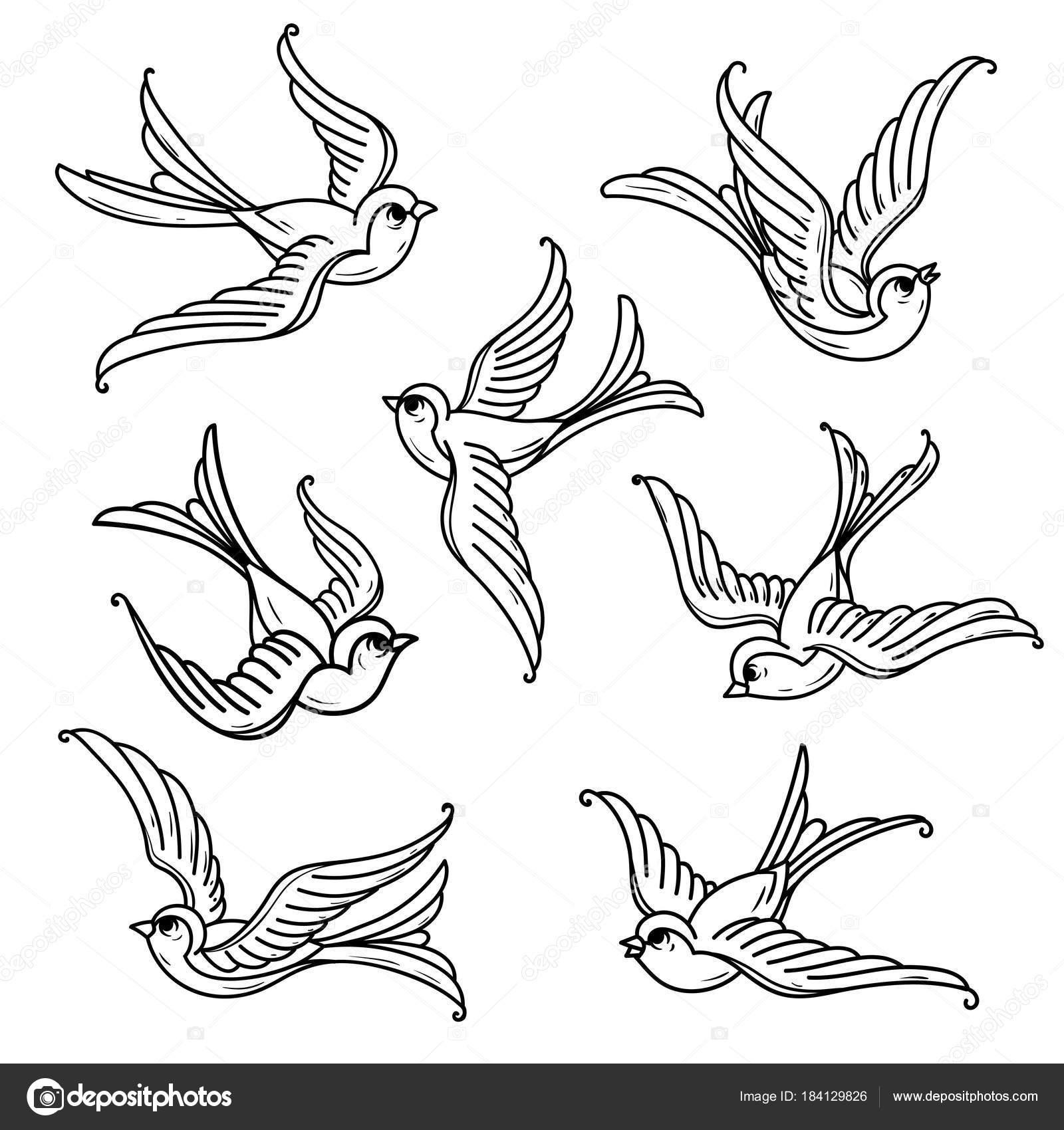 Set of flying bluebirds free birdsmbol of hope stock vector set of flying bluebirds free birdsmbol of hope stock vector buycottarizona Image collections