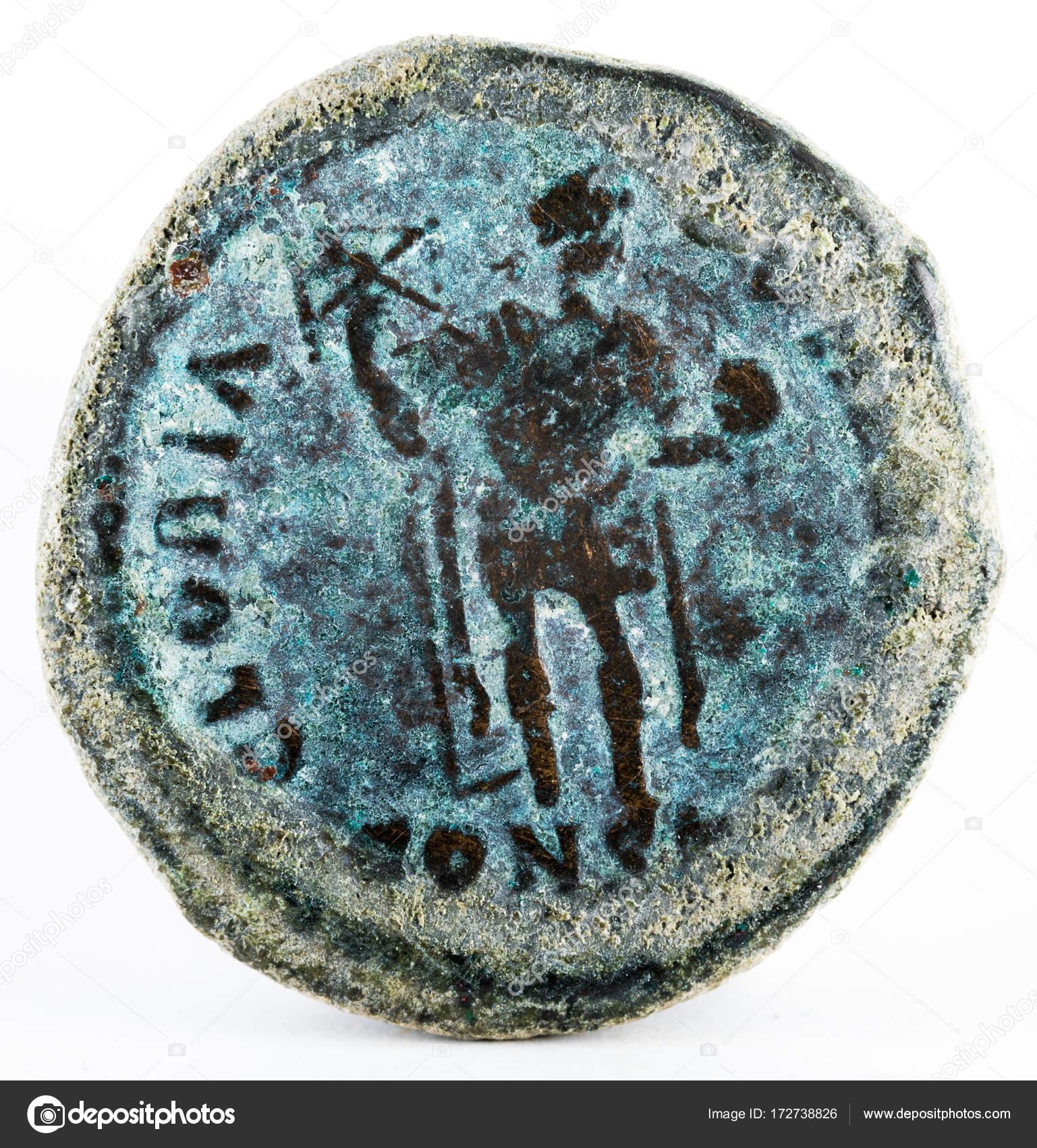 Römische Münzen Des Arcadius Reverse Stockfoto Estellez 172738826