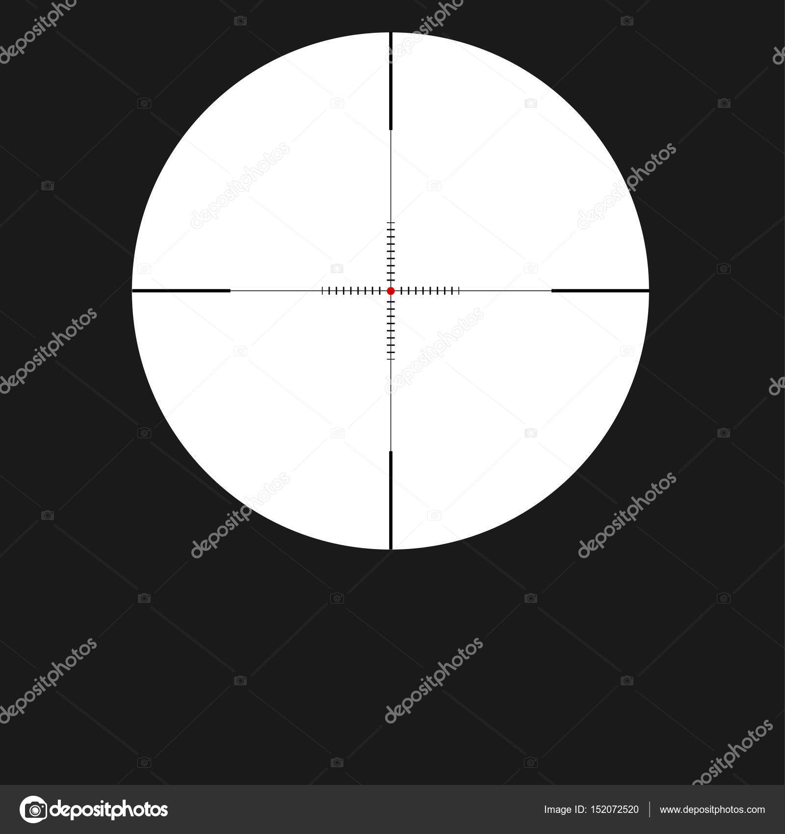 Crosshair sight icon reticle with red dot sight sniper symbol crosshair sight icon reticle with red dot sight sniper symbol isolated on white background buycottarizona Image collections