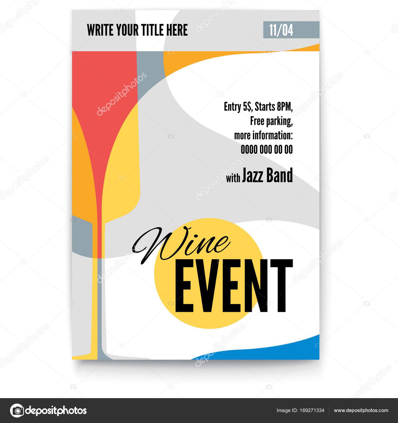 Vektor Vorlage für Poster, Design-Layout für Broschüre, Banner ...
