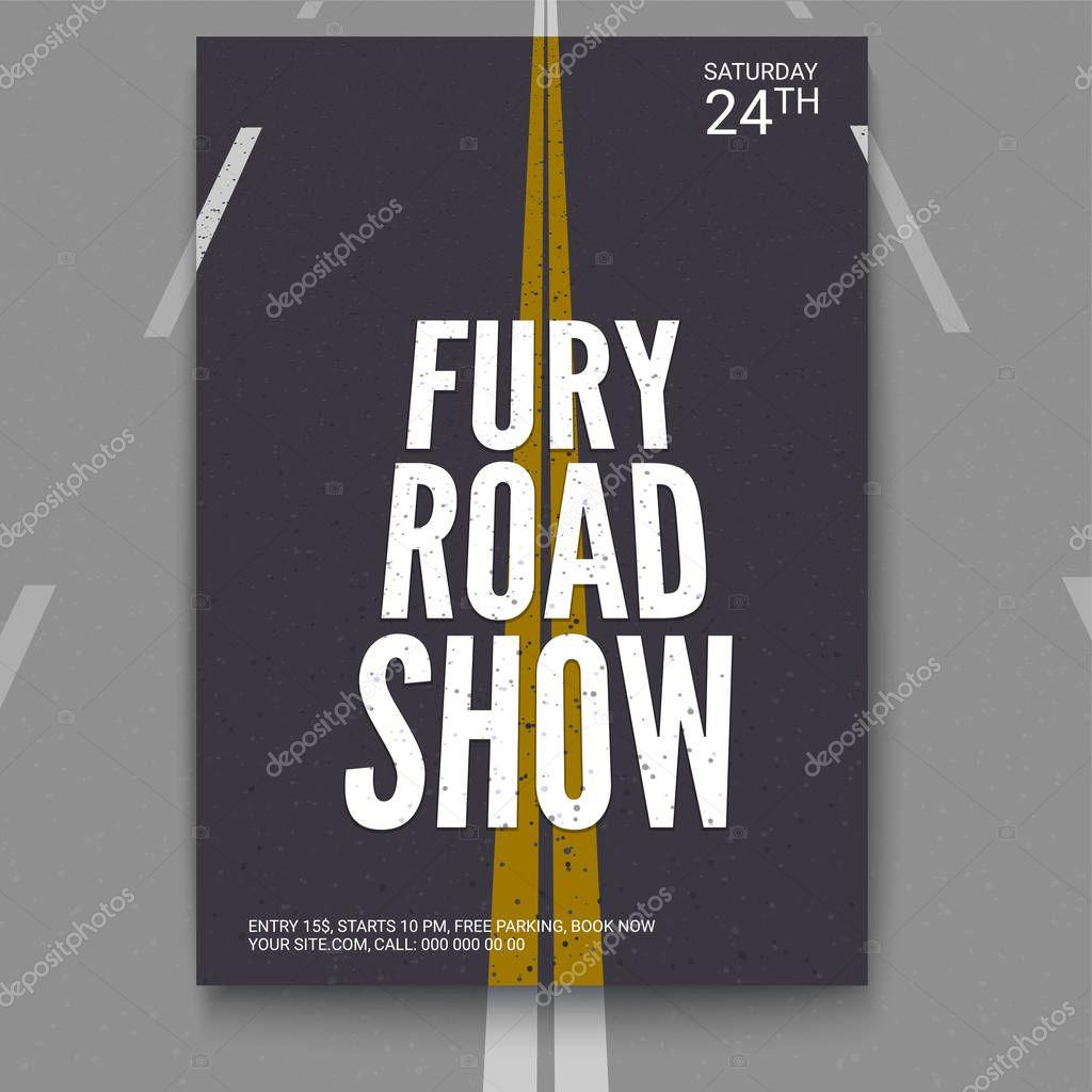 Plantilla de vector de cartel, diseño de brochure, banners, flyer ...