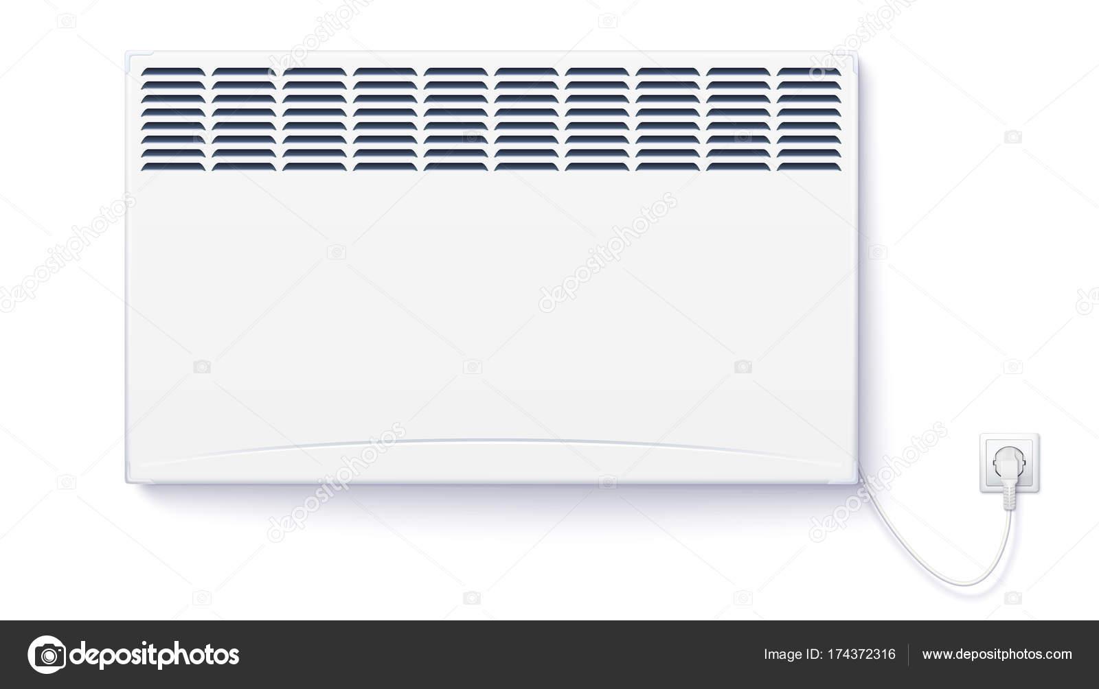 Riscaldatore Elettrico Domestico Convettore Casa Sia