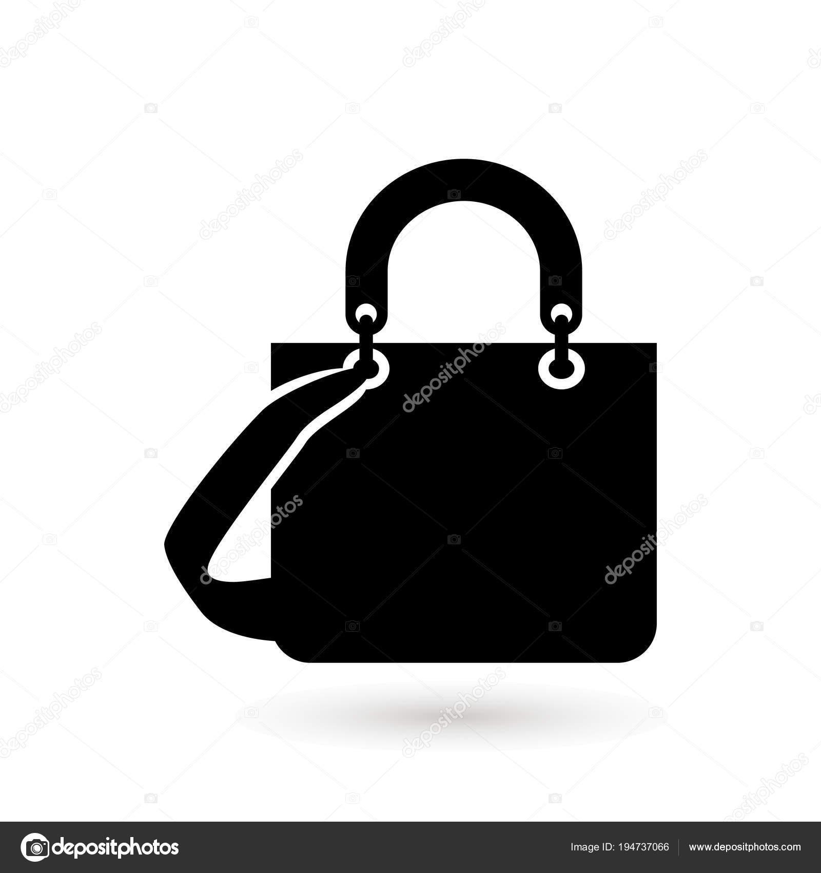 07c2490182 Logo de sommaires sac femme. Sacs Boutique logo. Boutique de sac à main.  Illustration vectorielle en isolé sur fond blanc. Mode et accessoires  concept ...
