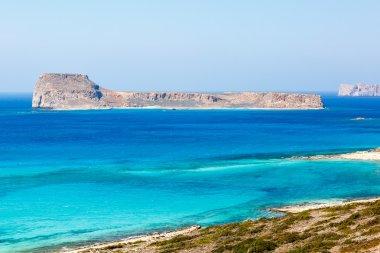 Gramvousa island  on Crete. Greece.