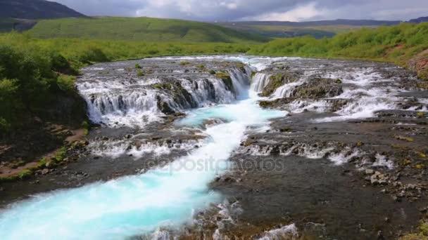 Bruarfoss vodopád Islandu