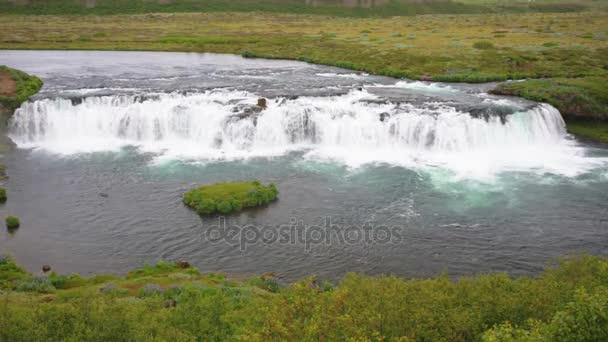 Faxi-Wasserfall in Island