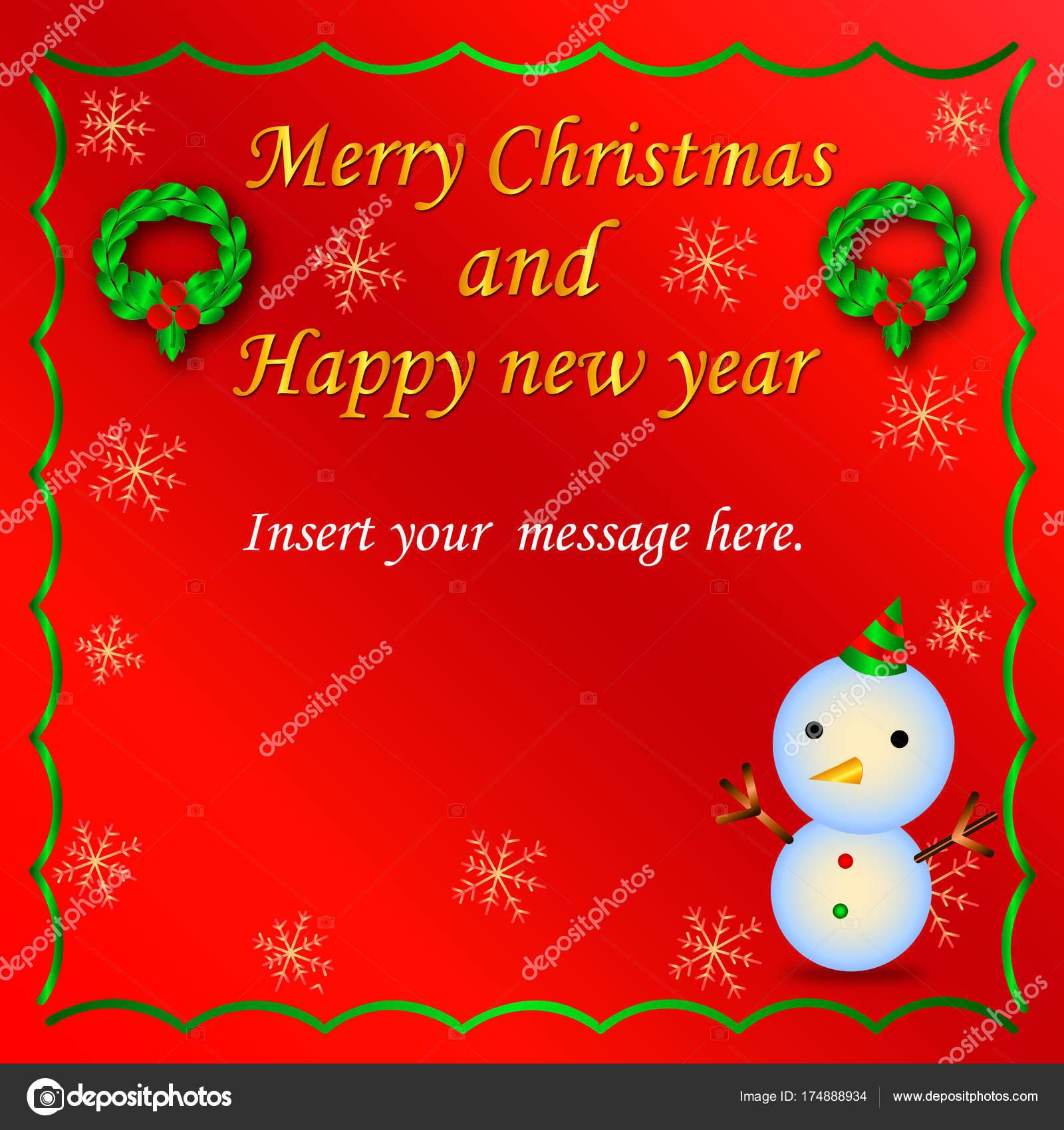 Vector lovely christmas card send your friend family lover stock vector lovely christmas card send your friend family lover stock vector m4hsunfo