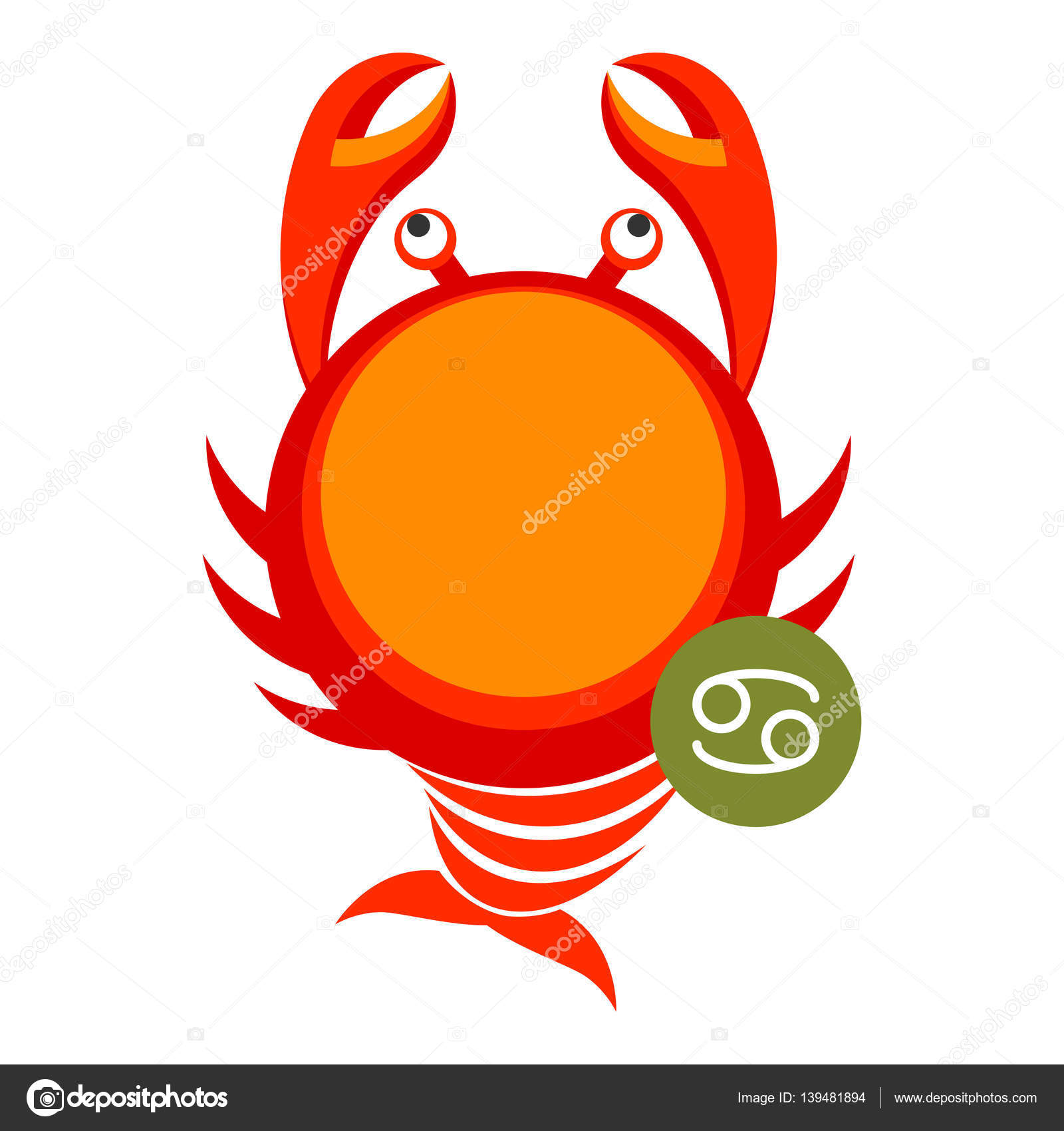 Cancer astrology sign isolated on white horoscope zodiac symbol cancer astrology sign isolated on white horoscope modern symbol for cancer represents pincers of crab zodiac constellations astrological mythology icon biocorpaavc
