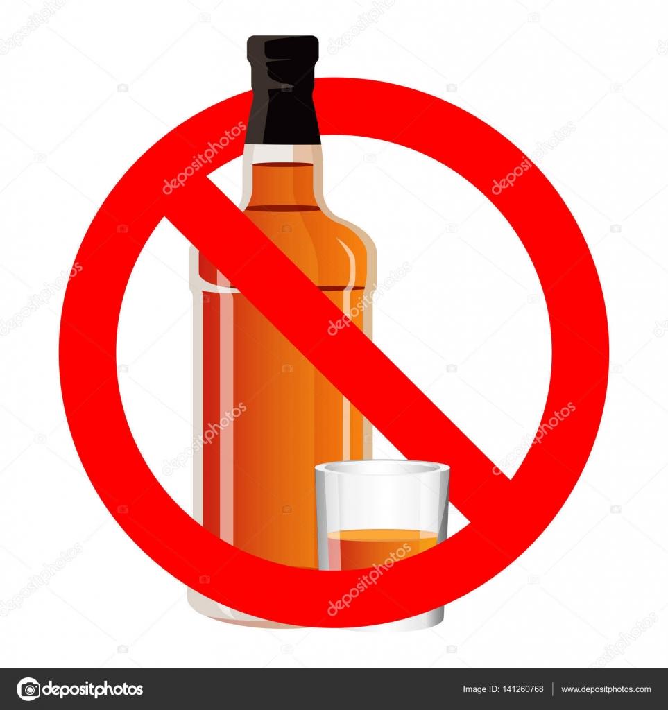 Bouteille de boire de l alcool et verres pied en aucun - Alcool a friction ou acheter ...