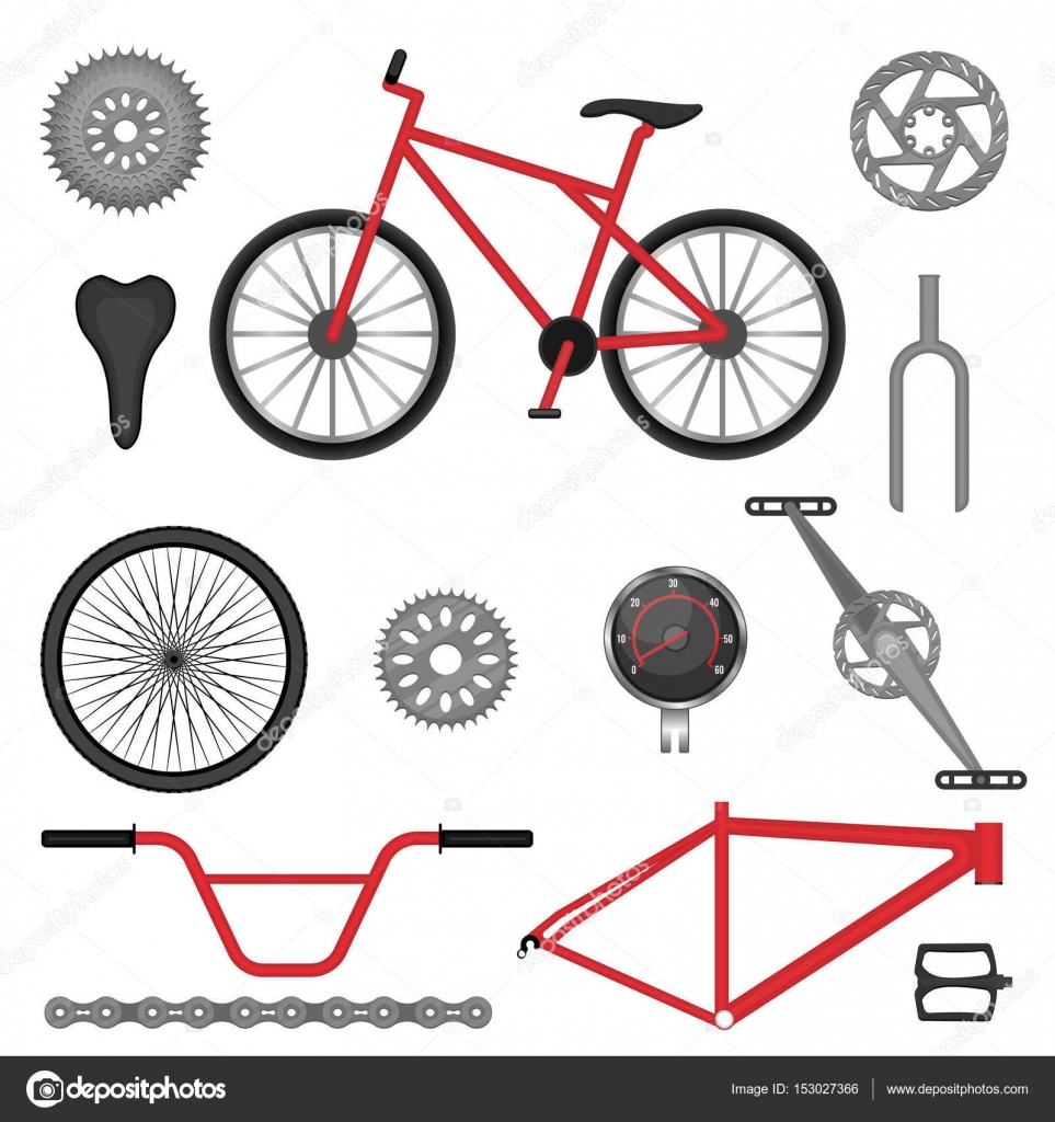 Parts Of Bmx Bike Off Road Sport Bicycle Used For Racing Stock