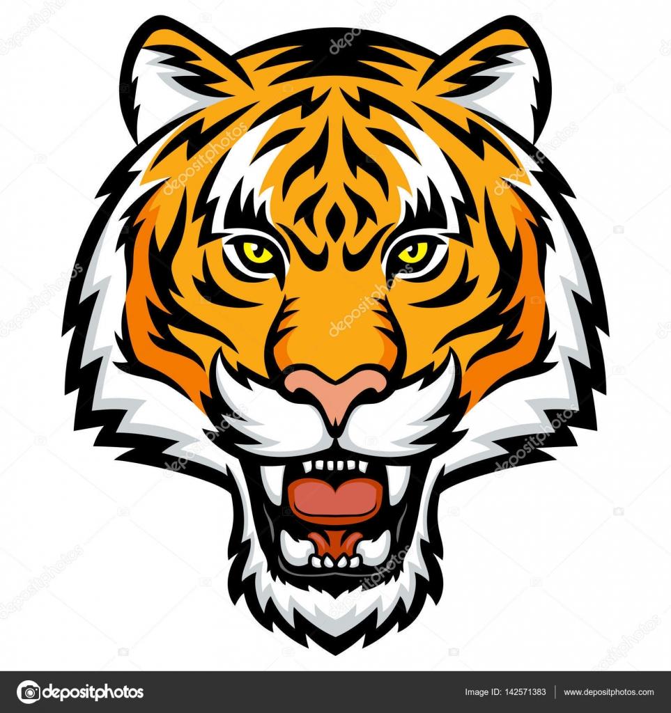 Logo t te de tigre image vectorielle komissar008 - Image tete de tigre ...