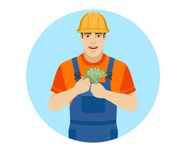 Builder with cash money