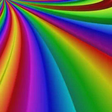 Különleges renderelés, absztrakt egzotikus animáció, fantasztikus tervező, színes digitális művészet, 3D-s geometriai