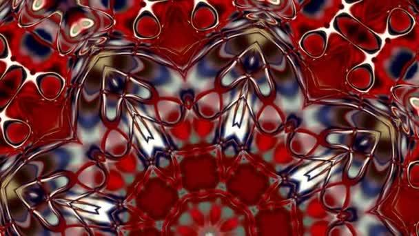 Különleges renderelés, absztrakt egzotikus animáció, fantasztikus tervező, színes digitális művészet, geometriai mandala