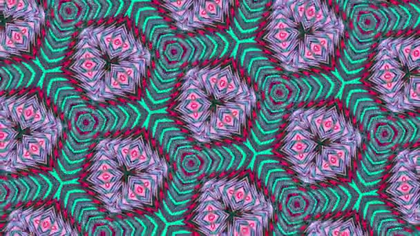 Különleges renderelés, absztrakt egzotikus animáció, fantasztikus tervező, színes digitális művészet, geometriai Kaleidoszkóp