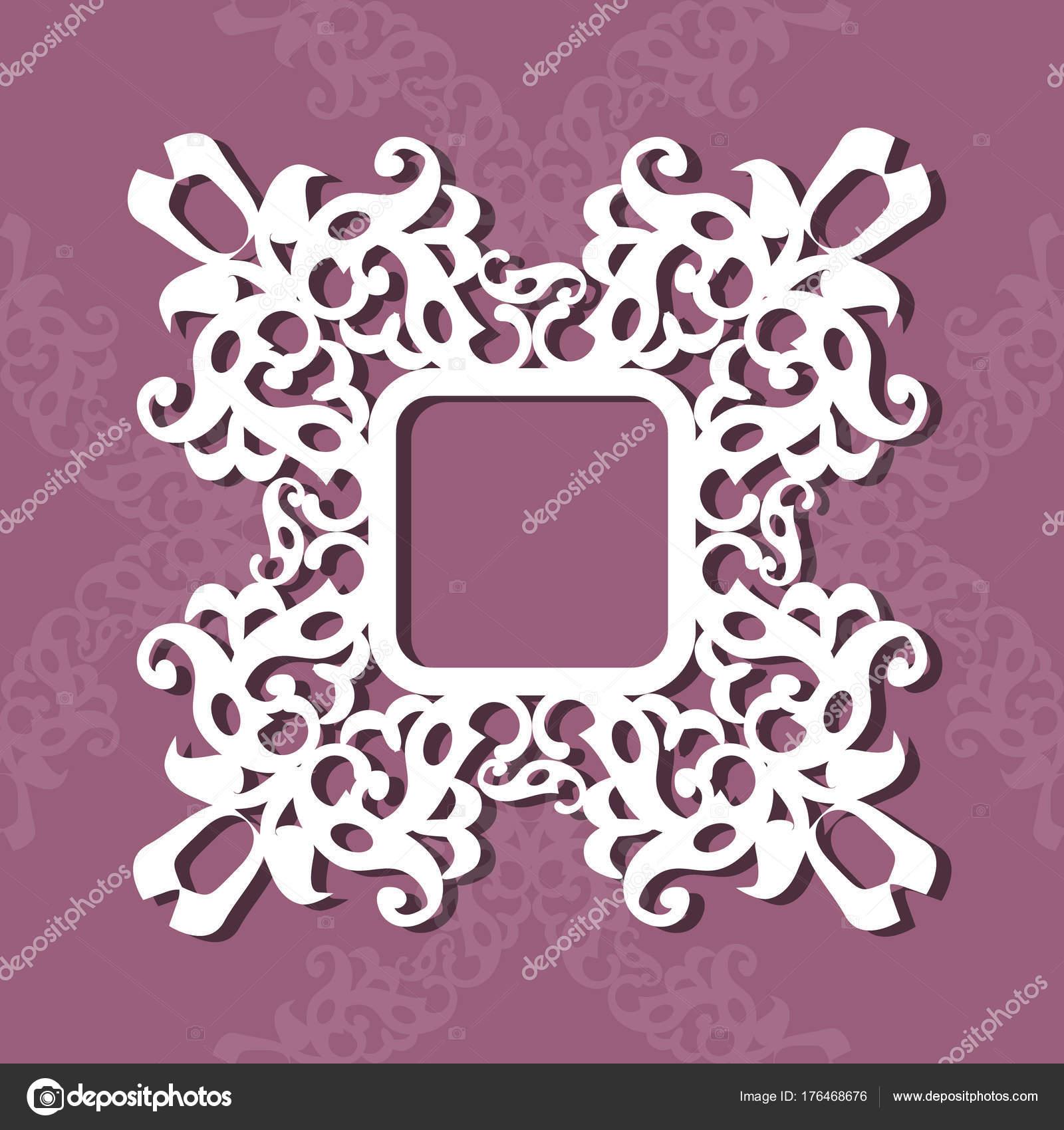 quadratischer Rahmen für Fotos oder Bilder, Urlaub-Vorlage, Geschenk ...