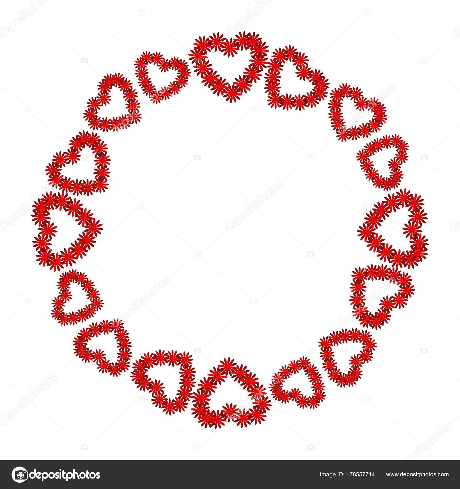 corazón rojo sobre fondo blanco. San Valentín colorido. Abstracción ...