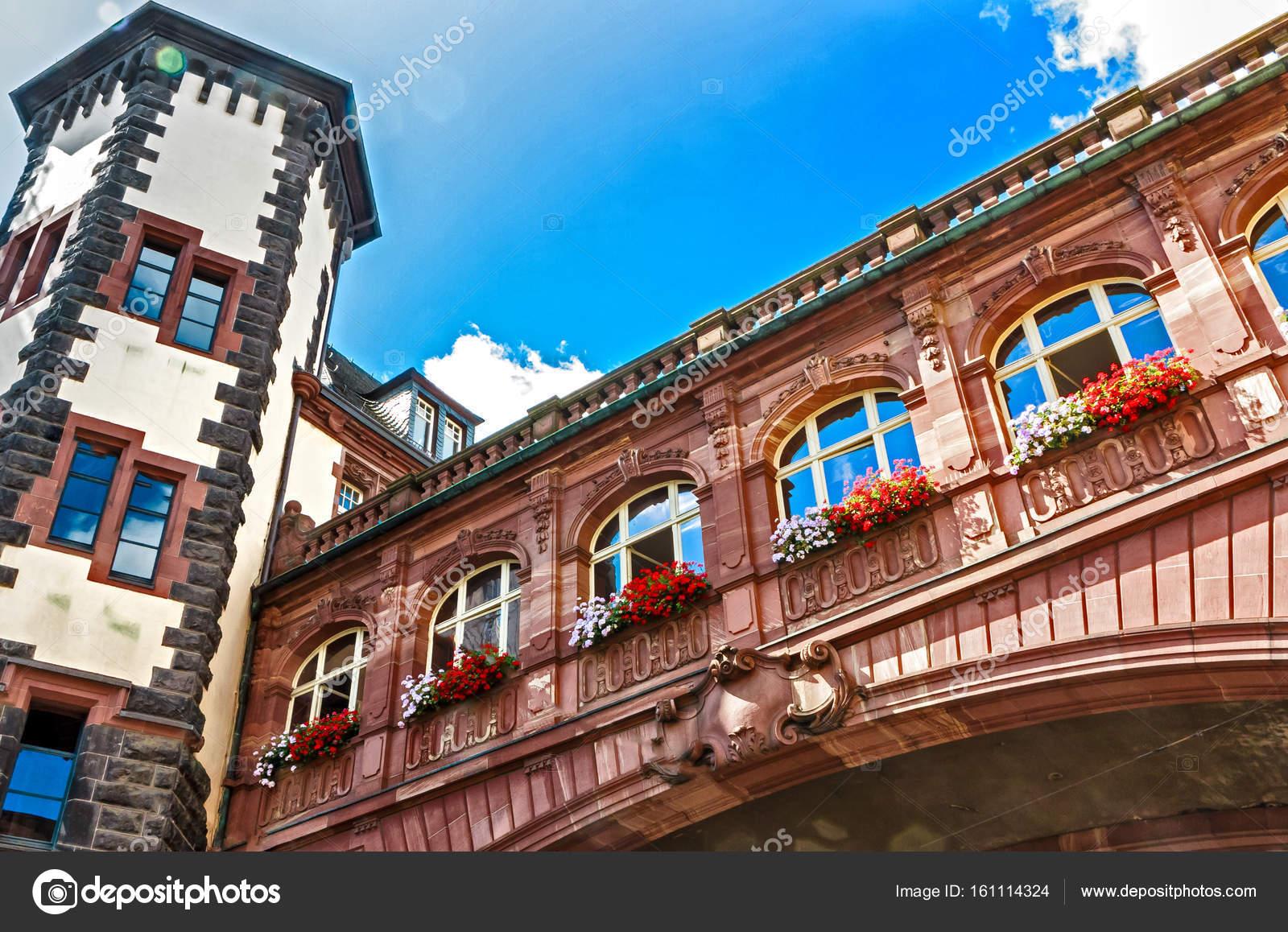 Mittelalterliche 1900 1908 Neo Barocken Alten Rathaus In Frankfurt