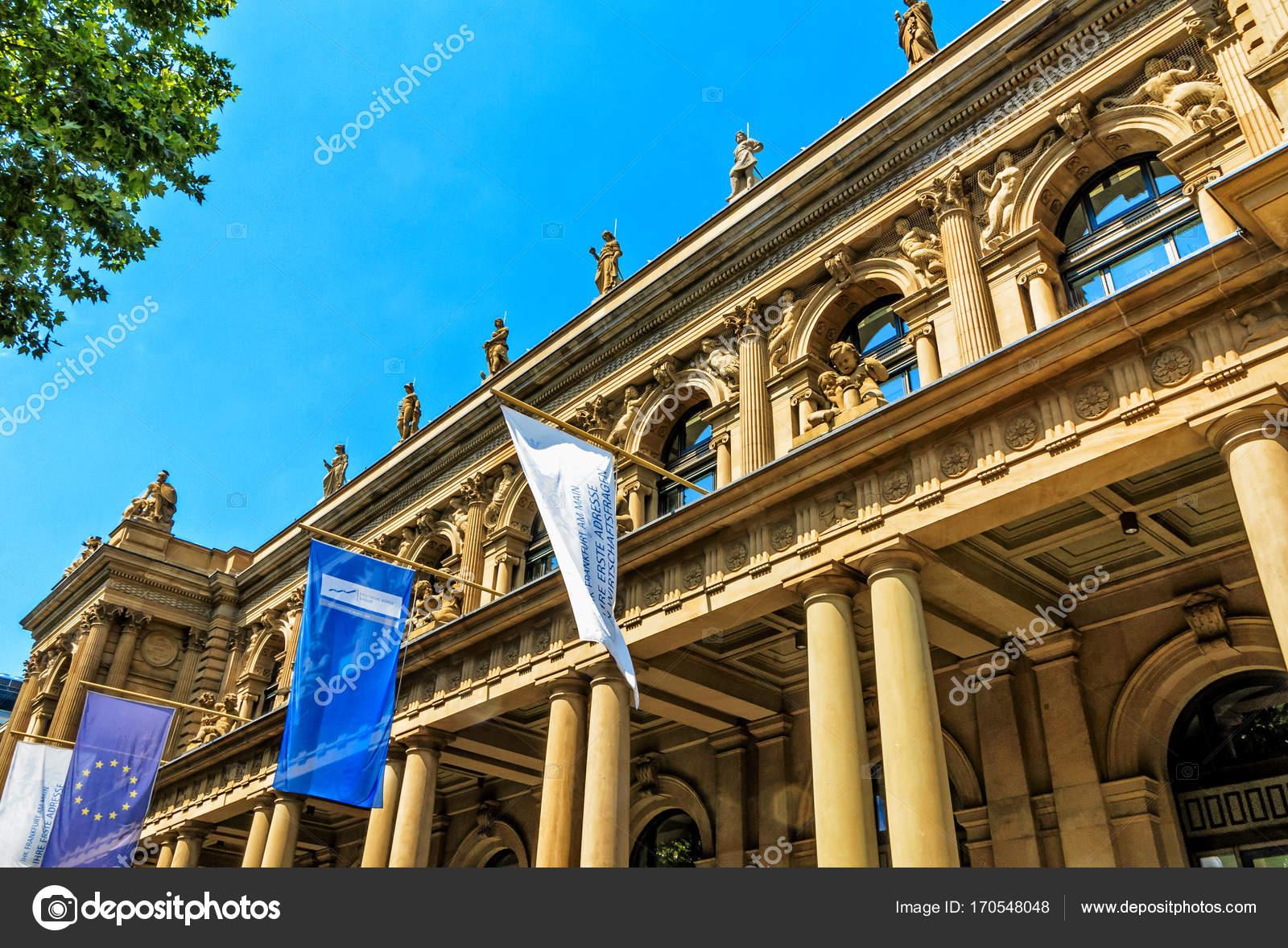 ドイツのフランクフルト証券取引...