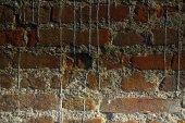 Cihlová zeď kamenné pozadí - textury pro kontinuální horniny