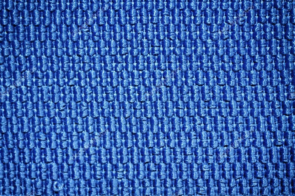 Blue Obsolete textured fabric background for web site or mobile devices.