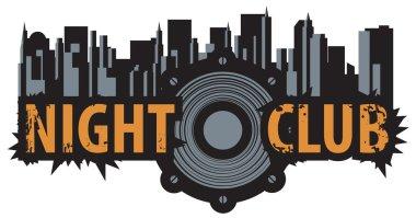 logo for a night club