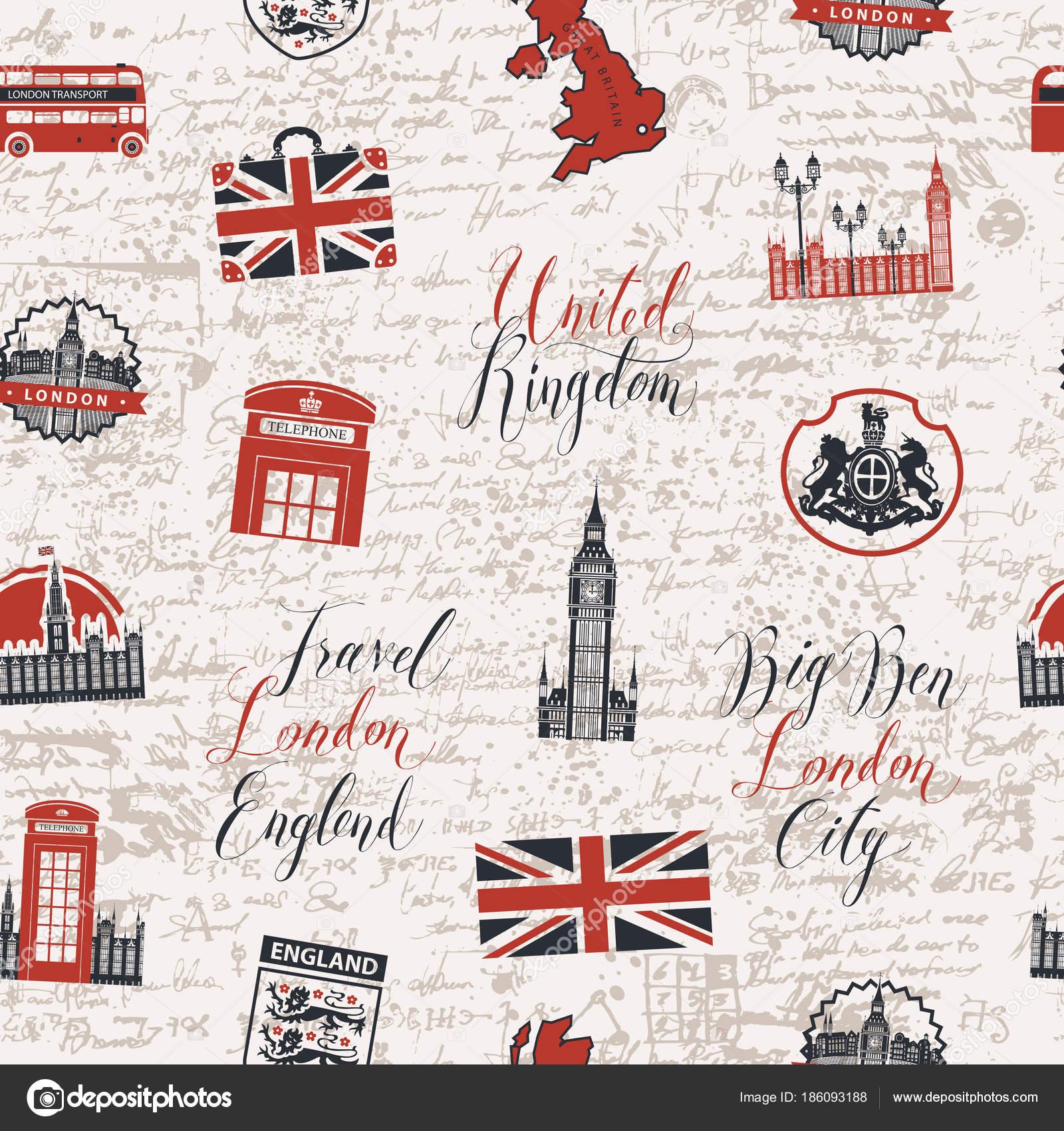 Fondo transparente en el tema de Reino Unido y Londres — Archivo ...
