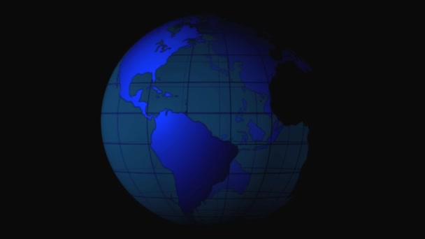 Earth technology background loop animation globe rotating technology earth technology background loop animation globe rotating technology world map stock video gumiabroncs Gallery