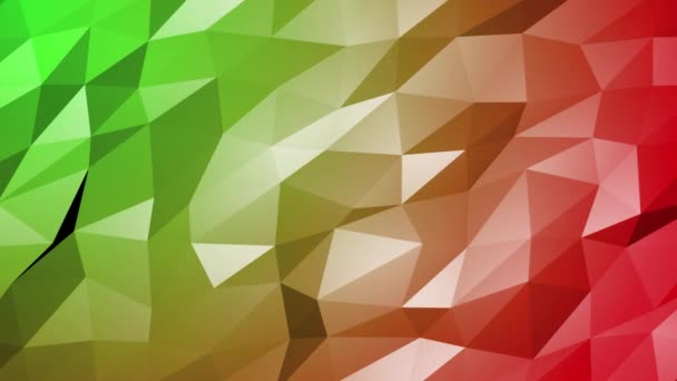 Abstract Low Poly 3D Surface in loopable Background Animation. triangles technology geometric motion design. Modern video animation