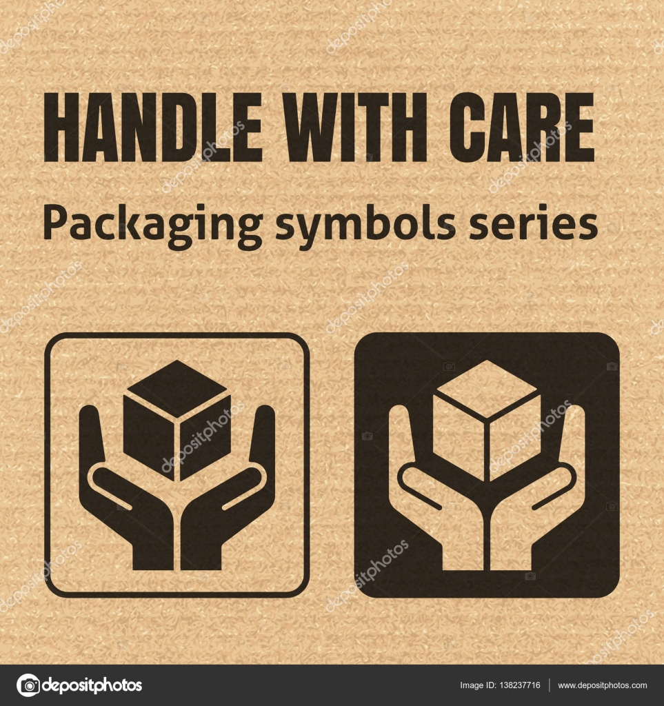 Handle with care packaging symbol stock vector realvector handle with care packaging symbol stock vector buycottarizona