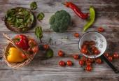 Fotografie vegetariánské jídlo