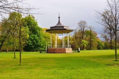 Kensington garden in spring, London, UK