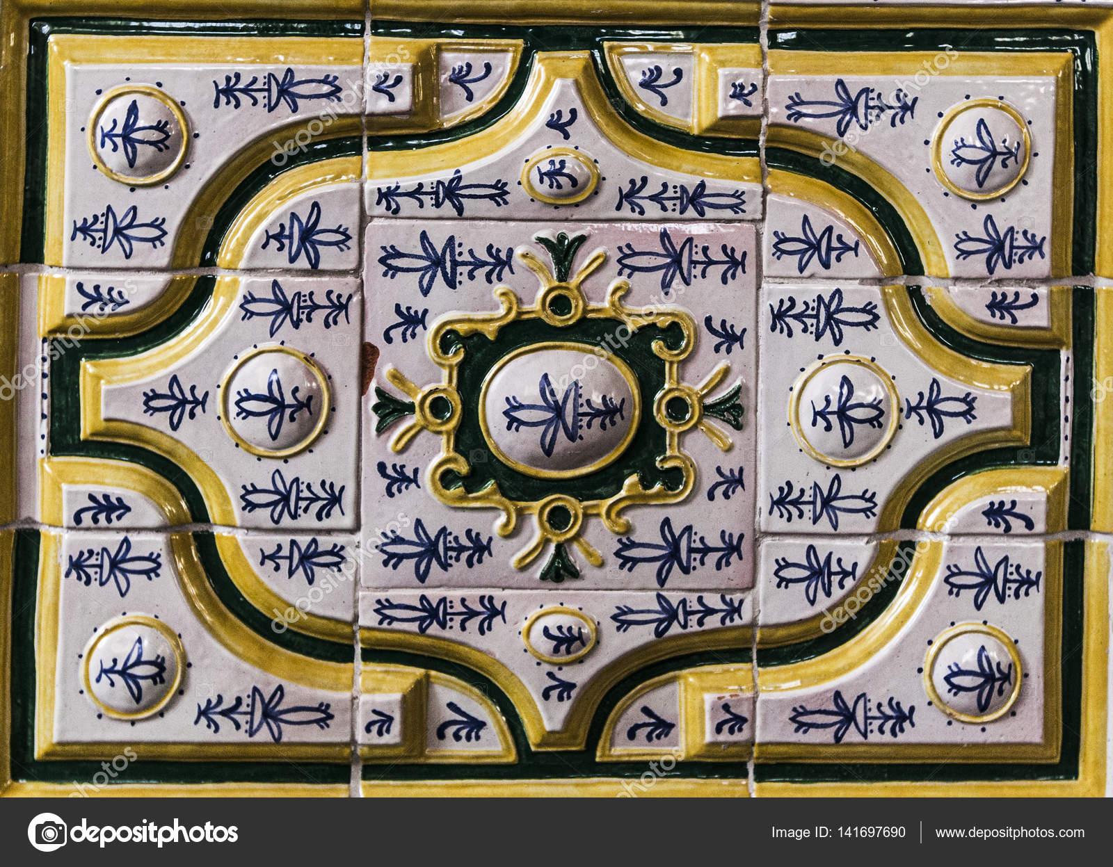 La décoration à l\'intérieur de la mosquée — Photographie ...