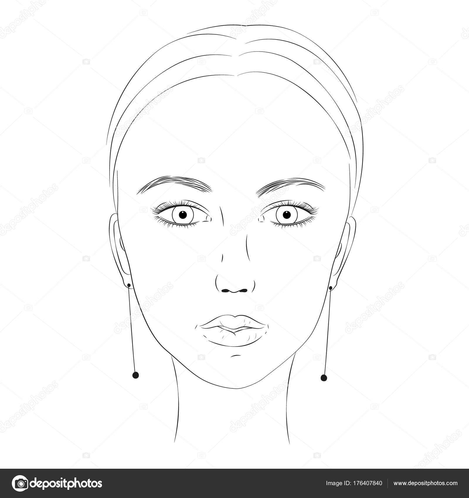 Gesicht Zum Ausmalen